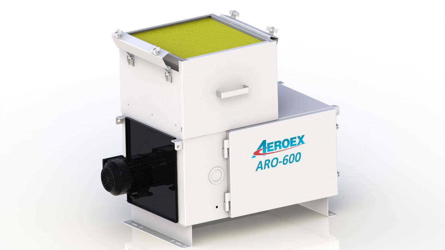 Aeroex Oil Mist Collector (ARO-600, 400, 800, 1100, 1400, 2000, 2500)