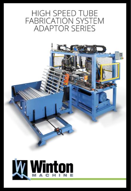 High Speed Tube Fabrication System Adaptor Series