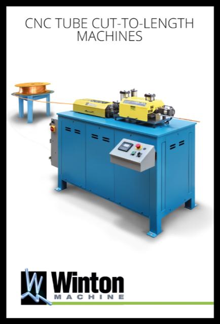 CNC Tube Cut To Length Machines